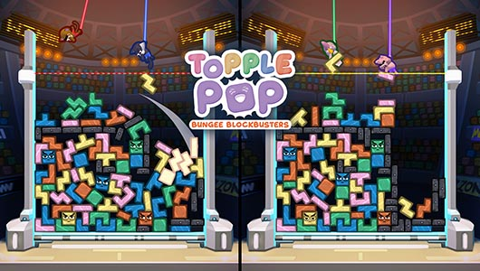 TopplePOP: Bungee Blockbusters